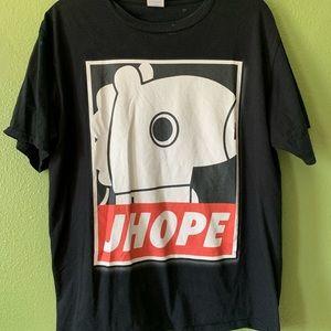 Tops - BTS J-Hope Mang tee